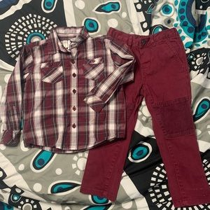 Toughskins Outfit 3T
